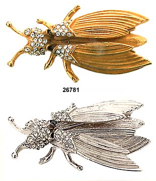 Hattie Carnegie Bug Pins