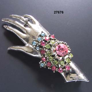 Thelma Deutsch Hand Pin