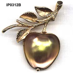 Sarah Coventry Apple Fruit Pin