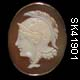 Two Faced Cameo of Athena, Goddess of War