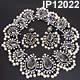 Kenneth Lane Bib Necklace and Earrings