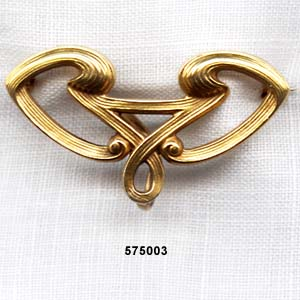 Art Nouveau 14 Karat Watch Pin